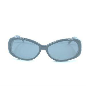 Anne Klein AK5131 Black Oval Sunglasses Frames